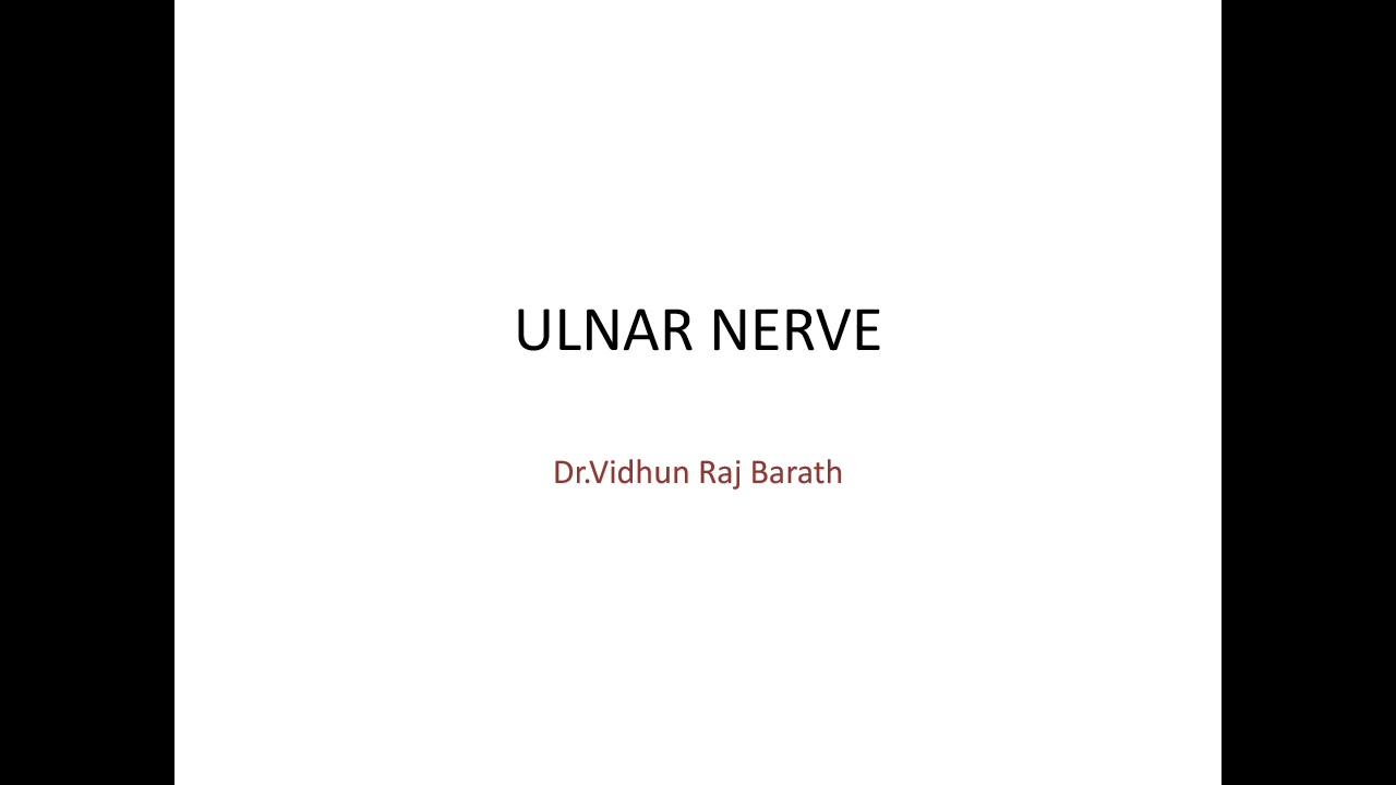 Ulnar nerve - Anatomy,clinical examination,claw hand presentation ...