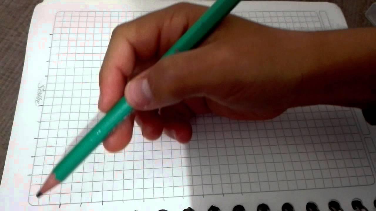 Como Dibujar Una Linea Curva Con Lineas Rectas Youtube