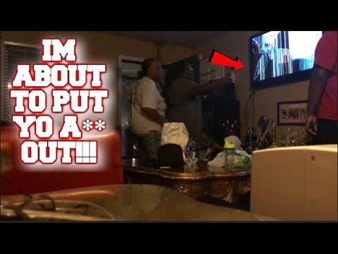 Broken tv screen prank on mom she kicked me out youtube - How to do the broken tv screen prank ...