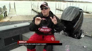 Fishing Tip - New Berkley Flicker Shad Pro Series Color Options Season 10 Extra