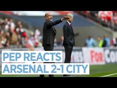 Guardiola Press Conference   Arsenal 2-1 Man City