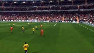 Fifa 14 Goal #3 Kyle Walker