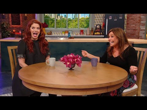 """Eric McCormack Surprises Debra Messing For Her 50th Birthday On The Set of """"Will & Grace"""""""