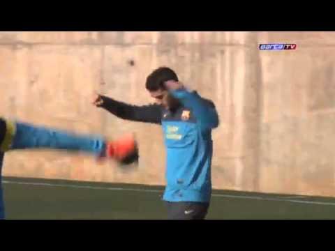 Download FC Barcelona - Training 05/02/2013