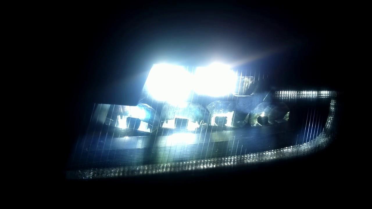 Как своими руками сделать светодиодные фары на фото 910