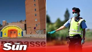 COVID-19: Spain city of 140,000 people, Lleida, locks down again after spike in coronavirus cases