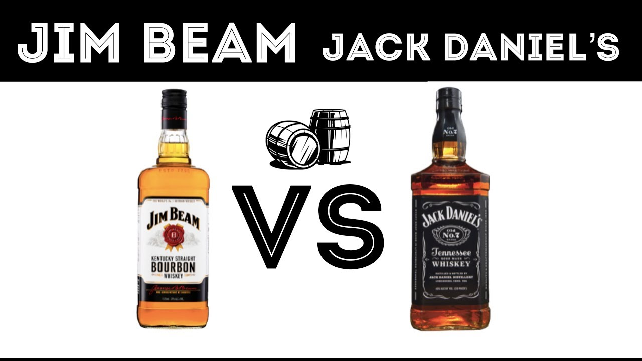 Jim Beam Vs Jack Daniels Cata Ciega 181 Youtube