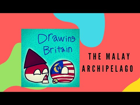 Countryballs The malay  archipelago