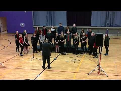 Palmyra Eagle High School Winter Choir Concert 2016 #2