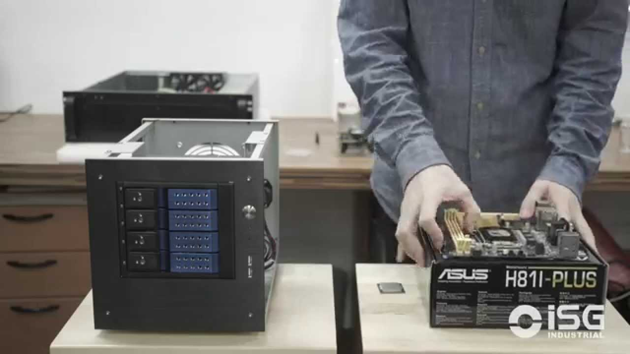 How To Build A NAS Or HTPC With The ISG Industrial S 35