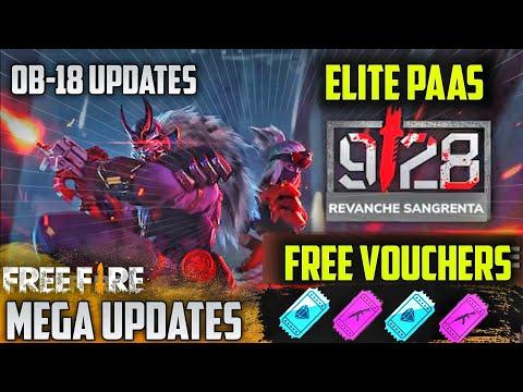 New Updates 2019 : New Elite Pass & Halloween Gold Royale   , Free Vouchers , New M1873 Gun Skin