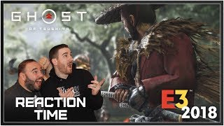 Ghost Of Tsushima E3 2018 Gameplay - Reaction Time!