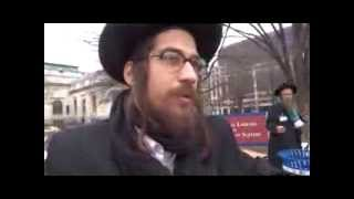 rabbis protesting aipac convention