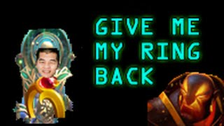 Dota 2 Griefing - Ember Spirit wants his ring back |Stream Highlight