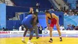 WM Baku 66kg Martin Daum - KALIMASI Sabith (Kongo)