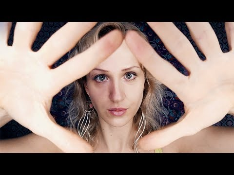 ASMR  Facial Hypnosis To Turn 'Off' Your Brain | 7 Layers Face Massage