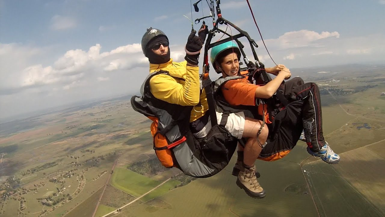 tandem paragliding - TANDEM WITH TYRIN - paragliding funny ...