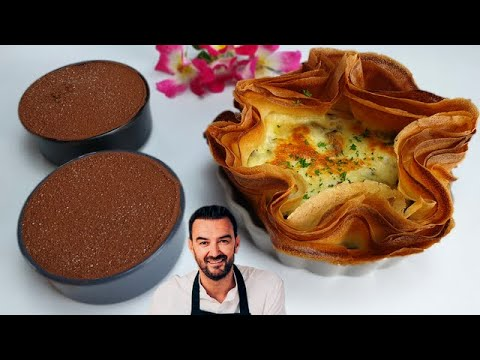 tous-en-cuisine-#38-:-le-tiramisu-et-la-tarte-croustillante-mozzarella-champignons-de-cyril-lignac-!