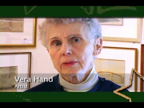 Vera Hand, Winnipeg artist & supporter of the Jubilee Fund Inc.