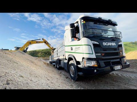 Truck Test | Scania G500 XT 6x4 | Men are from Marsh