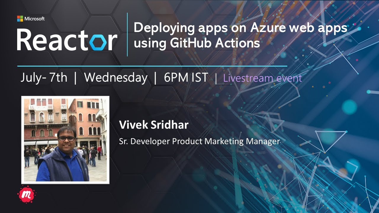 Deploying Apps on Azure Web Apps using GitHub Actions