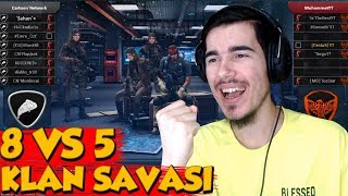 TOPUNUZ GELİN ! 8 VS 5 KLAN SAVAŞI 37 KILL ALDIM TEAM YT KLAN SAVAŞI - ZULA
