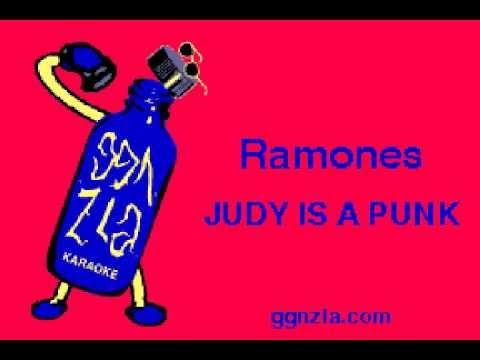 ggnzla KARAOKE 117, Ramones - JUDY IS A PUNK