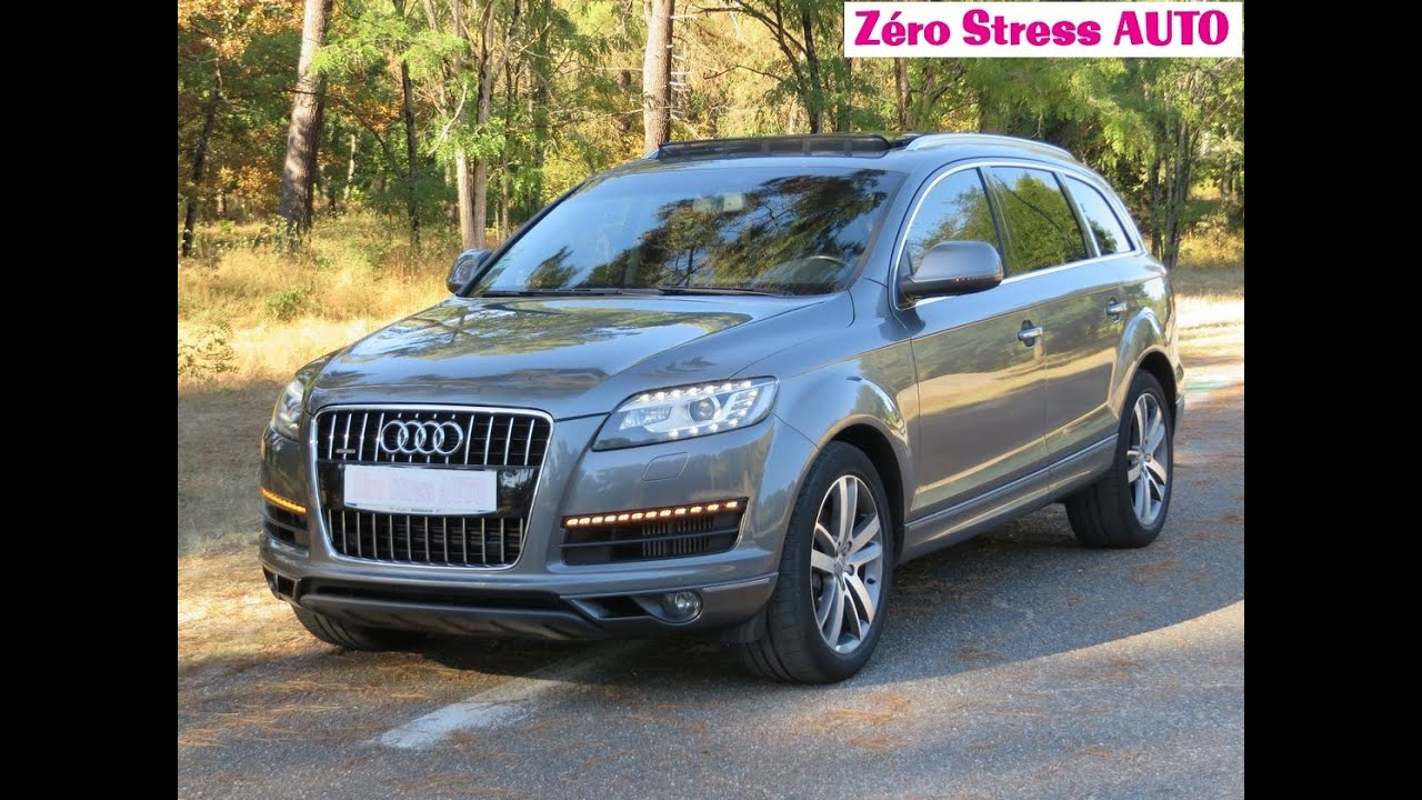 audi q7 3 0 v6 tdi 245 avus 7pl 2012 tiptronic 8 gris. Black Bedroom Furniture Sets. Home Design Ideas
