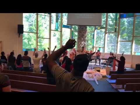 Worship at Journey Conference Alpine Christian Center BLue Jay CA June 2018