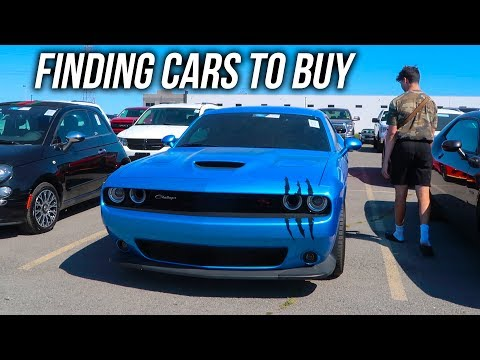 Finding Cars To Buy At The Auto Auction (Adesa Auction)