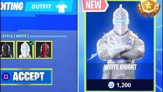 New black knight unlockable styles coming to Fortnite battle royale?
