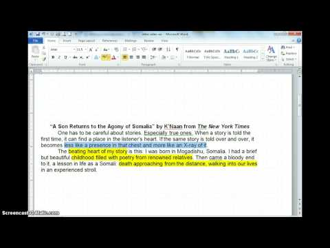 Introduction Writing for Narrative Essay