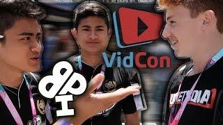MEETING LOVE LIVE SERVE & IRELAND BOYS @ VIDCON | VidCon Day 1 🔥