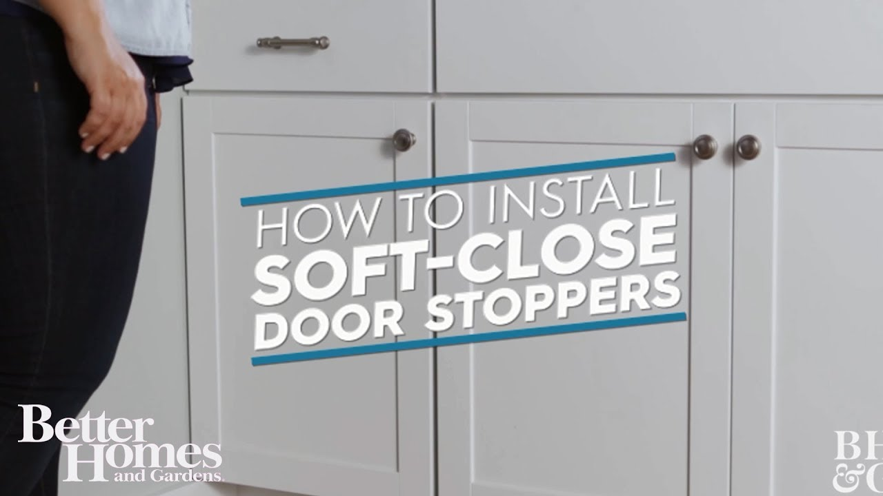 How To Install Soft Close Cabinet Hinges