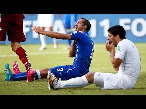 Luis Suarez 'bite' row: World Cup fans in Uruguay react