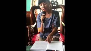 Chân Ngắn -Hoài Thu.Guitar:star Linh (Hội liên hiệp sinh viên Giao Thủy-GSA)