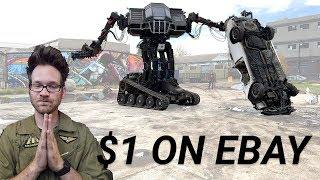 Giant Robot on eBay starting at $1