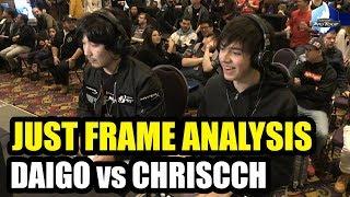 Just Frame Analysis! - ChrisCCH (Sakura) VS CYG BST Daigo (Guile) - Canada Cup 2019