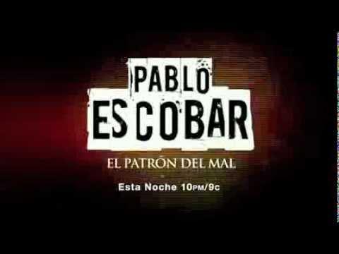Pablo Escobar el Patrón del Mal promo esta noche 10/2