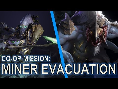 Starcraft 2 Co-Op Mission: Miner Evacuation [MASS ORACLES]