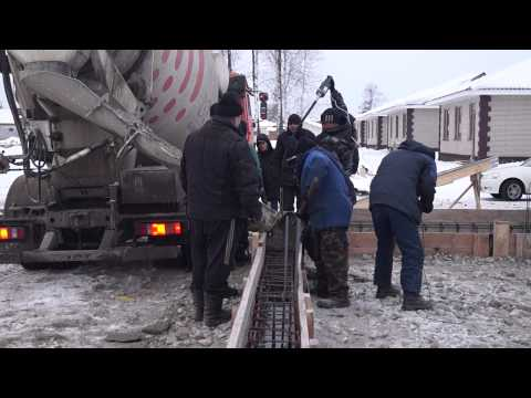 Russian build their houses in the minus 15 degrees