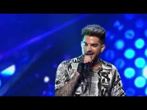 Adam Lambert Sings 'I Want To Break Free' With Harley Vass #xfactorau