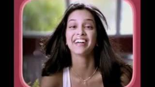 Deepika Padukone close-up Ad
