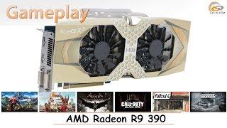 AMD Radeon R9 390: gameplay в 15 популярных играх