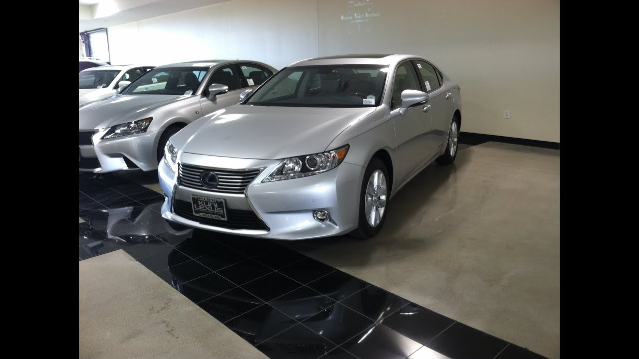 2014 Lexus ES300h Luxury (Start Up, In Depth Tour, And Review)   YouTube