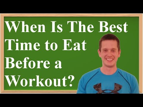 When Is The Best Time to Eat Before a Workout? (A Review of the Science & Evidence)