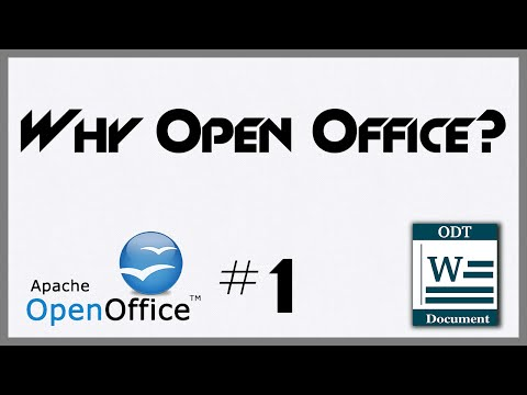 Why Use Open Office - 1 - Introduction To OpenOffice Writer
