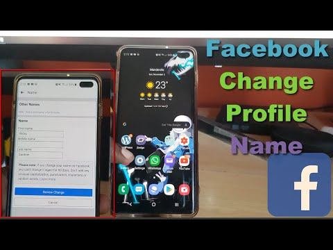 How To Change My Profile Name on Facebook 2018 from YouTube · Duration:  3 minutes 2 seconds