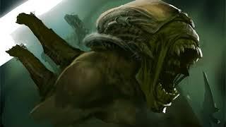 Alien Painting Pete Novak