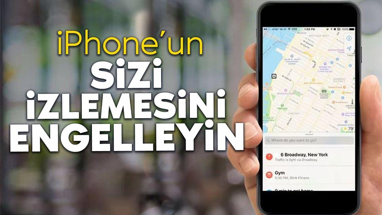 iphone konum izleme